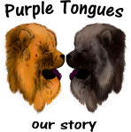 Purple Tongues